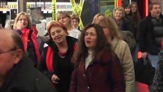 První flash mob v Jihlavě!