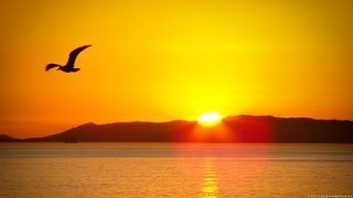Awesome Time Lapse Video of Ocean Sunrise to Sunset 1080p