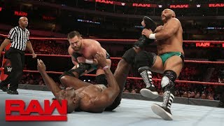 Titus Worldwide vs. The Revival: Raw, March 19, 2018