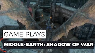 Middle-earth: Shadow of War - DRAKE MISSION GAMEPLAY - 1080P/60FPS