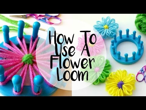 Episode 64 How to Make a Flower on a Loom