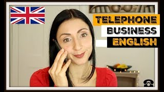 TELEPHONE ENGLISH | How To Sound Professional On The Phone | Business English Lesson