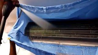 LG Split AC Pressure Wash Servicing