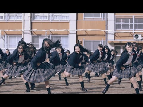 "Dance club of Tomioka High school collaborates with the musical film ""The greatest showman""."