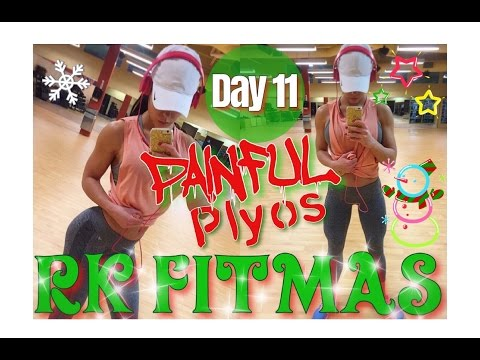 12 Days of RK FITMAS | Day 11 | PAINFUL PLYOS | Stretching 101