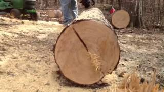 Log bench splitting