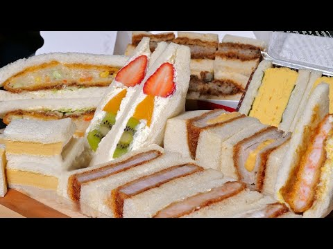 Japanese Sandwiches better than Sushi or Ramen ★ ONLY in JAPAN