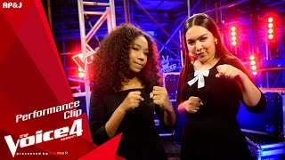 The Voice Thailand - หมิงหมิง VS นีนา - You Make Me Feel Like A Natural Woman - 8 Nov 2015