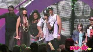 Nicki Minaj and Tyga Perform 'BedRock' at L.A. Show