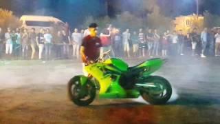 استعراض الدراجات النارية نادي فرسان بغداد في نادي الفروسية