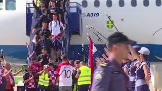 Croatia Get Heroes' Welcome