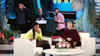 Ellen's New Show 'Game of Games' Leaves Jennifer Hudson Stunned