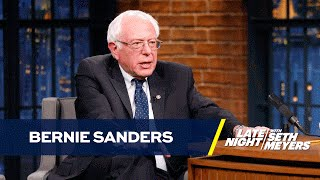 Senator Bernie Sanders Makes a Case for His Supporters to Rally Behind Hillary Clinton