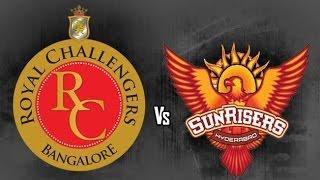 IPL 10: `Dejavu` last year finalists RCB and SRH clash again