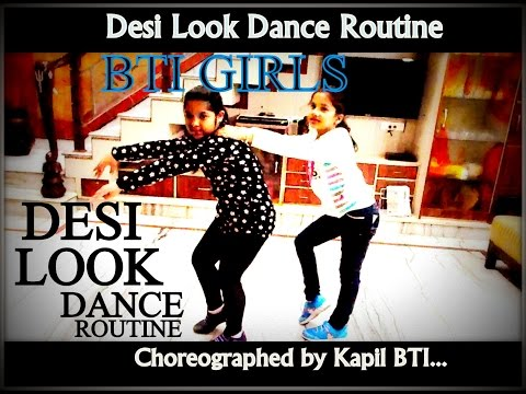 Desi Look DANCE By Cute Girls Of BTI