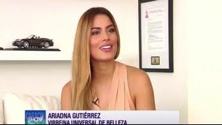Ariadna Gutierrez regresa a las Pasarelas con ColombiaModa
