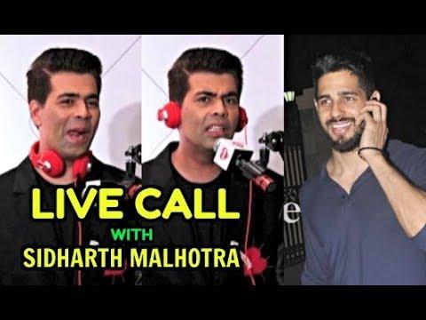 Xxx Mp4 Karan Johar Live Call With Sidharth Malhotra 3gp Sex