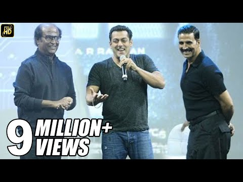 Xxx Mp4 Salman Khan At Robot 2 0 First Look Launch Full Video HD Rajinikanth Akshay Kumar 3gp Sex