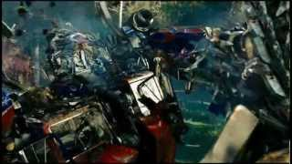 Transformers Revenge of the fallen Forest Battle