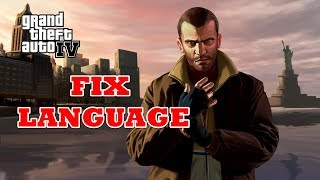 GTA 4 How To Change Language