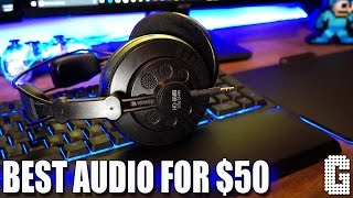 AUDIOPHILE QUALITY FOR $50! : Superlux HD668B Headphones