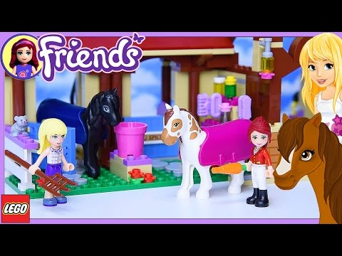 Lego Friends Heartlake Riding Club Part 1 Build Review Silly Play - Kids Toys
