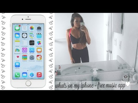 Xxx Mp4 WHATS ON MY IPHONE 6S PLUS BEST FREE MUSIC APP 3gp Sex
