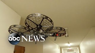 First responders turn to drones to save lives