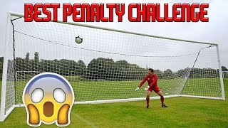 THE BEST PENALTY SHOOT-OUT CHALLENGE! - EPIC GOALS & FUNNY FAILS! - Football Challenge vs Friends