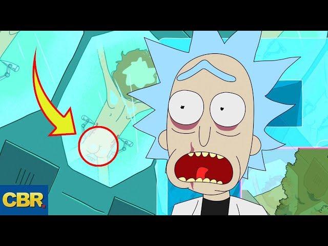 10 DARK SECRETS Rick And Morty Couldn't Keep Hidden