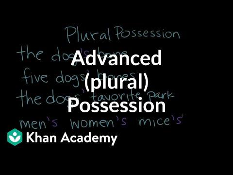 Xxx Mp4 Advanced Plural Possession The Apostrophe Punctuation Khan Academy 3gp Sex