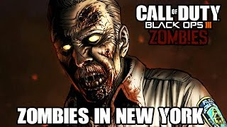 Black Ops 3 Zombie Mode Custom Zombies Deutsch - Zombies in New York