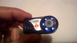 WIFI Mini IP Wireless Spy Cam Night Vision