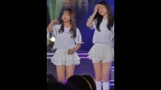 [fancam]160510 KNN LOVE FM CONCERT I.O.I(아이오아이) 같은곳에서 - 최유정,정채연