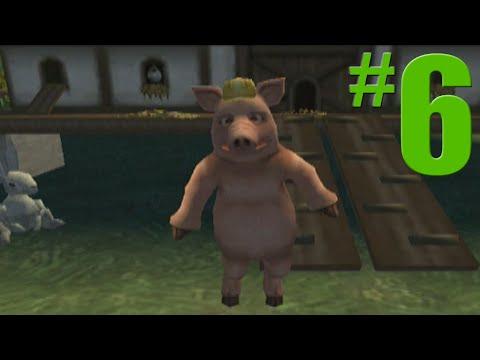 Shrek 2 Game Walkthrough Part 6 Jack and Jill s Farm No Commentary Gameplay Gamecube Xbox PS2