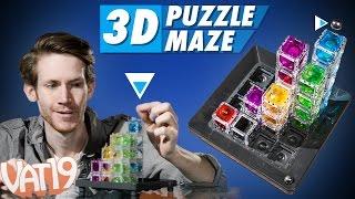3D Gravity Maze
