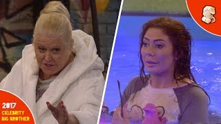 Kim Woodburn, Chloe Ferry and Jessica Cunningham argue | Celebrity Big Brother | Day 11