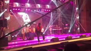 Kelvyn Boy shows class & maturity with his live band performance at #BhiMConcert2017
