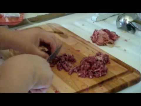 Cocinando Papa Rellena
