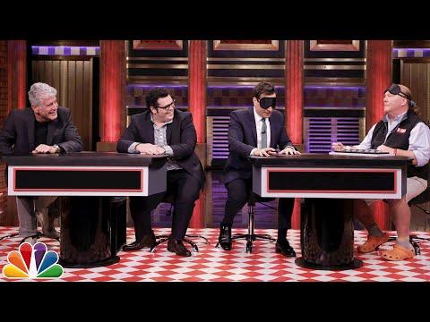 Food Pyramid with Anthony Bourdain Mario Batali and Josh Gad