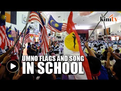 Xxx Mp4 Students Sing Umno Song Wave Party Flags At School Event 3gp Sex