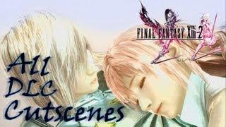 Final Fantasy XIII-2 | All DLC Cutscenes 1080p