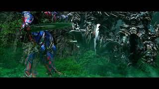 Transformers 4 A Era Da Extinção Optimus Prime Vs Dinobots Conpleto Dublado HD
