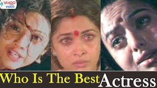 Who is The Best Actress ( Meena, Soundarya, Ramya Krishna) | Volga Videos