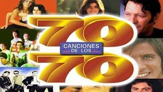 70 canciones de los 70 - Jeanette, Burning, Baccara, Pop Tops, Mari Trini, Braulio, Giacobbe, etc