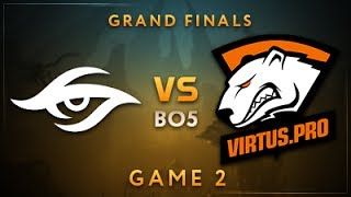 Team Secret vs Virtus.pro Game 2 - Dota Summit 7: Grand Finals