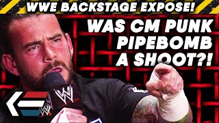 Was CM Punk's Pipebomb Promo A SHOOT?!   WWE Backstage Exposé