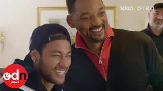 Will Smith shocks 'huge fan' Neymar with surprise visit in Paris