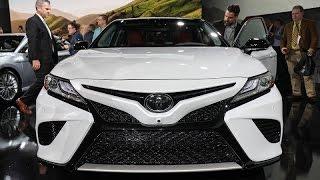 تويوتا كامري 2018  -  معرض ديترويت للسيارات 2017
