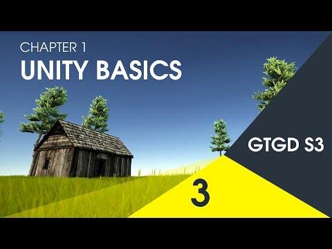 [3] Unity Basics - How To Make A Game